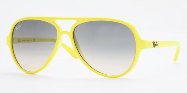 ray ban jaune fluo